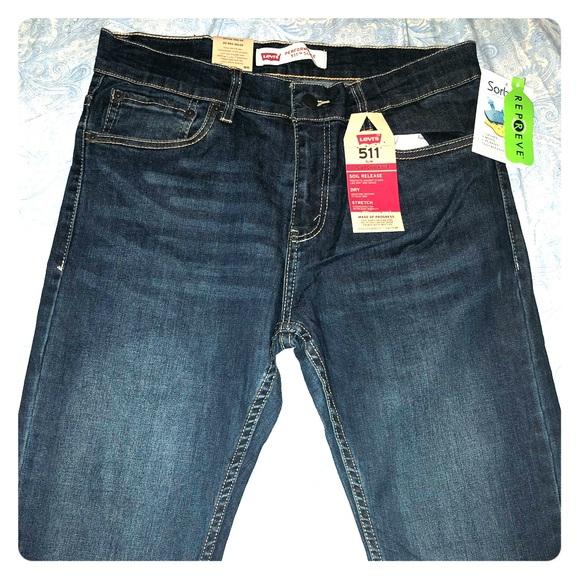 Levi's Other - Big Boys 511 TM Slim Fit Performance jeans size 20